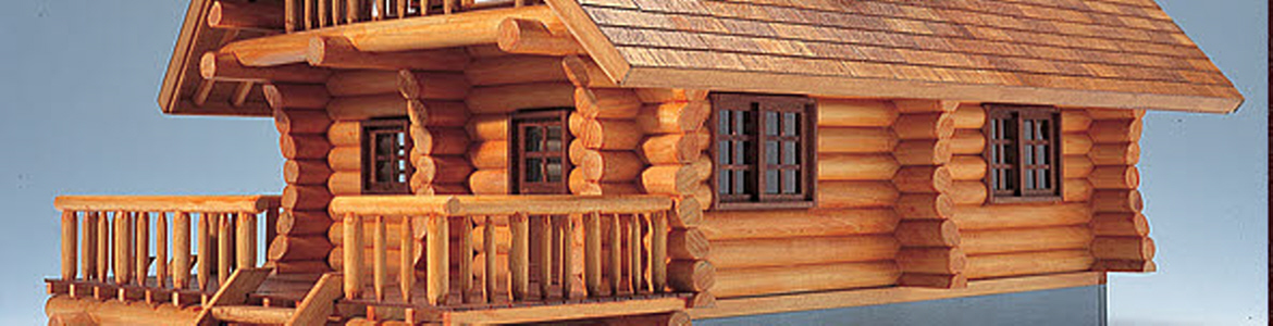Log cabin Model Kits