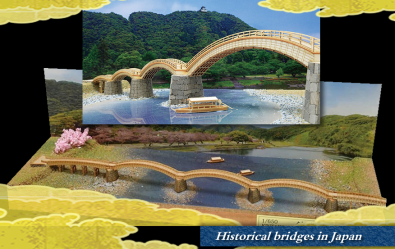 KINTAI BRIDGE / Historical bridges in Japan