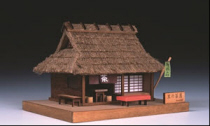 Traditional Japanese architecture / by Woody JOE. It is a palm-sized interior model series reproducing Japanese traditional architectural style.